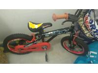 Kids power rangers bike