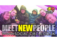 MEET NEW PEOPLE TRY NEW THINGS