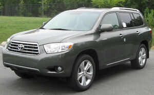 2008 Toyota Highlander Limited - GREEN - $14900