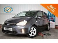 2008 08 FORD C-MAX 2.0 ZETEC 5D AUTO 145 BHP P/X WELCOMERARE AUTOMATIC VERSION