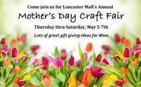 Mother's Day Craft Fair Lancaster Mall