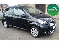 ONLY £98.06 PER MONTH 2012 BLACK TOYOTA AYGO 1.0 VVT-I FIRE 5 DOOR PETROL MANUAL