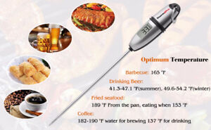 Meat/Food Thermometer Kitchen Digital Cooking Temperature BBQ