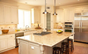 100% Maple Cabinet 50% OFF+Granite/Quartz Countertop From $45/SF