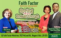 Spring into your BREAKTHROUGH - Healing & Miracle Festival