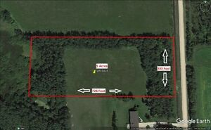 5 Acre Building Lot on Bracken Road, St. Andrews, MB