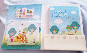 Brand New Winnie the pooh pad/letter set - $5