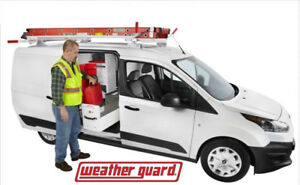 $700 OFF - BRAND NEW WEATHER GUARD COMPACT VAN LADDER ROOF RACK