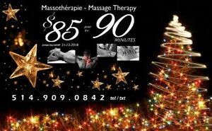 PROMO: Massothérapie Rive-Sud (Mtl) South Shore Massage Therapy