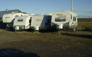 Outdoor Storage  Campers Travel Trailers etc