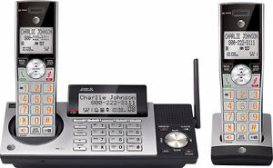 AT&T CL83215 Cordless Phone with 2 Handsets + AT&T CL80115