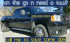 ON THE GO AN NEED A TOW ?!?