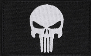 The Punisher Patch - In Black, Green or Brown