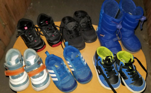 Toddler shoes for boys, size 6-7