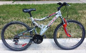 "Mountain Bike for Sale Full Susp18-spd ALU18""Frm 26""TIR MONGOOSE"