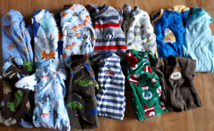 13 size 6 month sleepers