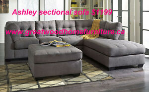 ASHLEY FURNITURE SALE !!! FABRIC SECTIONAL SOFA $1199