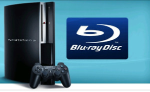 PS3 with Blu Ray and extras