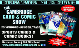 CAMBRIDGE CARDS & COMIC BOOKS SHOW | Baseball Sports Hockey