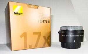 Téléconvertisseur Nikon TC-17E II.