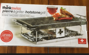 """ThinkSwiss"" brand Hotstone Grill-new in box-$25"
