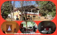4 season Chalet /house for rent.