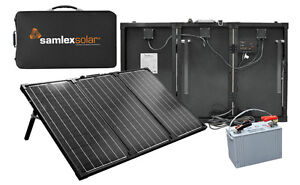 Samlex RV Battery Solar Charging Kit