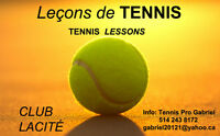 TENNIS LESSONS IN DOWNTOWN MONTREAL