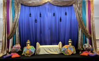 Affordable backdrops starting at $250