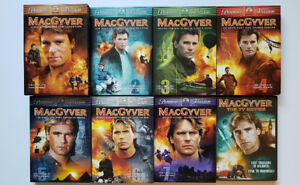 MacGyver, The Complete Series and The TV Movies on DVD for sale