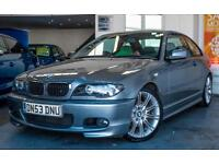 2003 BMW 3 SERIES 320CD SPORT 2DR FULL LEATHER! 2 KEYS! NEW MOT! COUPE DIESEL