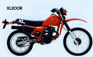 Wanted  XL200R  Frame or complete bike..