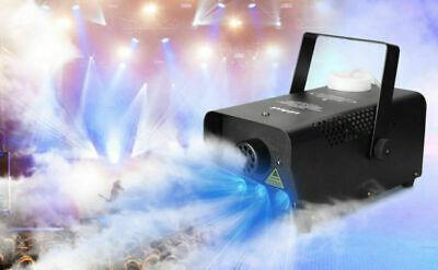 500W Smoke Fog Machine RGB LED Xmas Party Wedding Stage Light +Remote MultiColor - Fog Machine Remote