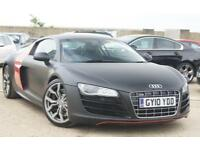 2010 AUDI R8 5.2 FSI V10 QUATTRO FULL AUDI DEALER HISTORY LOW MILEAGE 15K ONLY