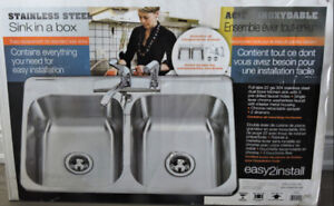 Stainless Steel Kitchen Sink Package