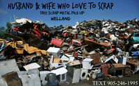 HUSBAND AND WIFE WHO LOVE TO SCRAP(WELLAND/PORT COLBORNE AREA)
