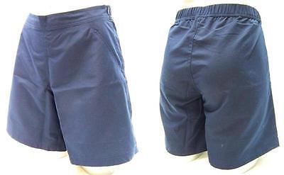 Damen Short dunkelblau / marineTennishose Tennisshort  Freizeithose Damenhose