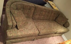 Excellent condition solid wood frame couch