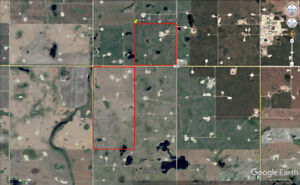 3 Quarters of Grain Land With Surface Leases Near Weyburn