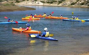 Learn to Kayak lesson