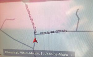 Terrain a vendre, St jean de matha.  56,250 pieds carrés