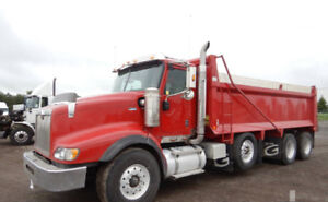 2013 INTERNATIONAL 5900I Paystar Dump Truck (Tri/A) for SALE