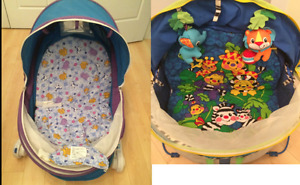 Fisher Price Activity dome and Safety First Chair