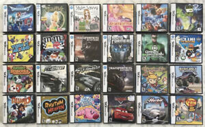 DS GAMES ! Poke. HeartGold/Black2/Conquest, Yoshi, Kirby, Marios