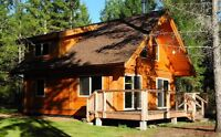 Log Cabin Package On Sale Now - Full Build Available