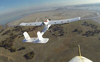 Huge RC fixed wing plane, brand new (pan and tilt) BNF