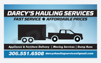 Darcy's Hauling Services