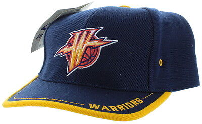 NEW! Golden State Warriors Vintage *Logo Athletic* Snap Back Hat Embroidered Cap