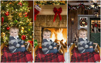 Unique Christmas Family sessions
