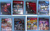 Neuf PS3 playstation 3 jeux games